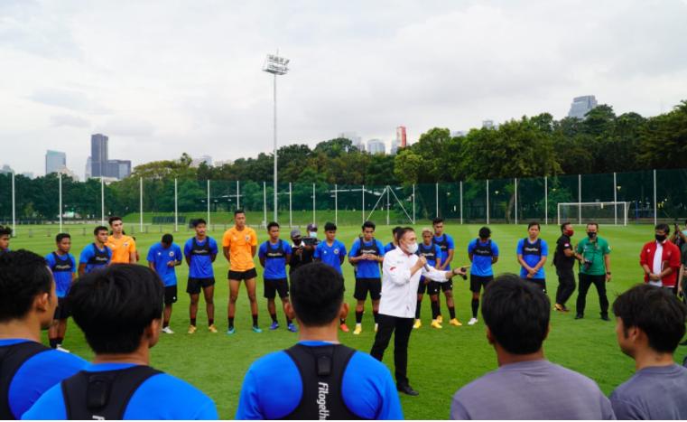 Daftar 33 Pemain Timnas Pilihan Shin Tae Yong Untuk Persiapan Kualifikasi Piala AFC U-23